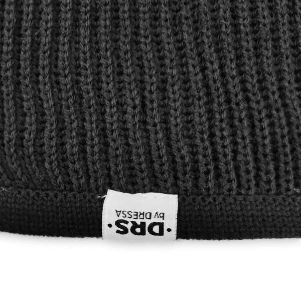 Dressa DRS kötött sapka sál kesztyű szett - fekete