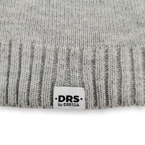 Dressa DRS kötött sapka sál kesztyű szett - világos melírszürke