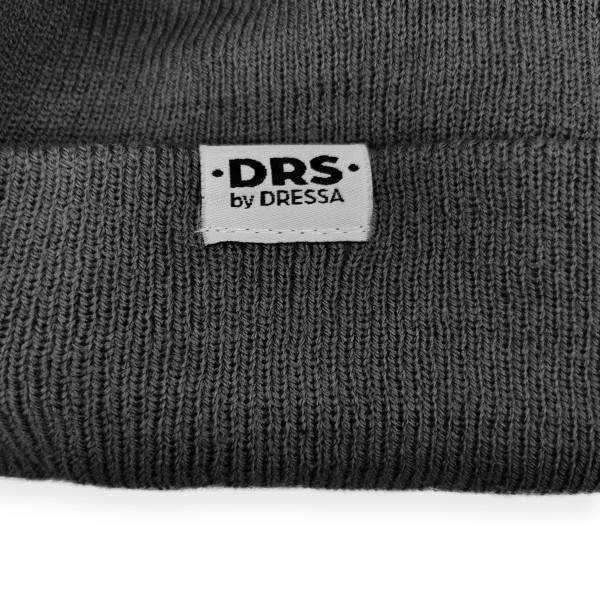 Dressa DRS kötött siltes téli sapka - szürke