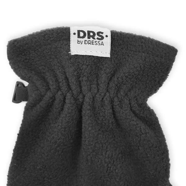 Dressa DRS lehajtható ujjú kesztyű okostelefonhoz - fekete