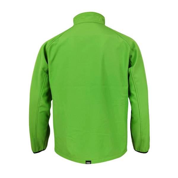 Dressa DRS softshell átmeneti férfi dzseki polár béléssel - zöld