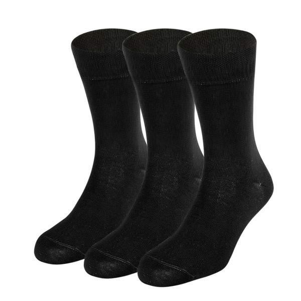 Dressa Elastico egyszínű pamut zokni csomag - 3 pár