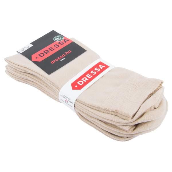 Dressa Elastico gumi nélküli pamut zokni - 3 pár