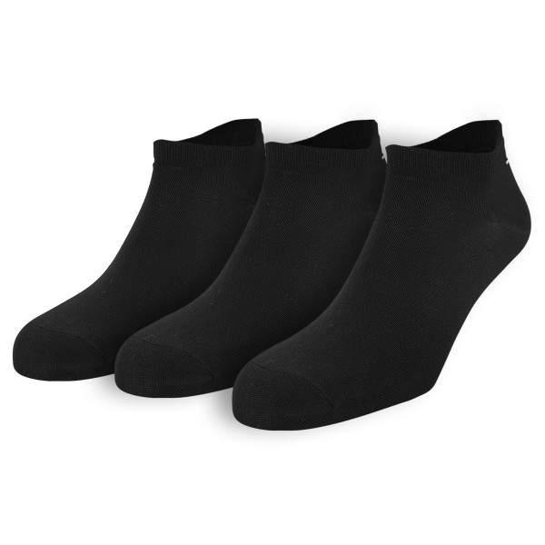 Dressa Fitness mikroszálas női titokzokni csomag - fekete - 3 pár