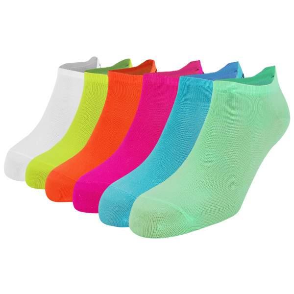 Dressa Fitness mikroszálas női titokzokni csomag - világos színek - 6 pár