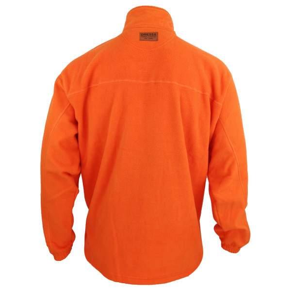 Dressa Forest cipzáros átmeneti polár dzseki - narancssárga