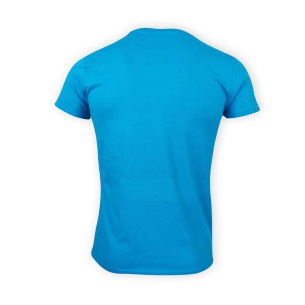 Dressa Happy Day méhecskés rövid ujjú férfi biopamut póló - kék