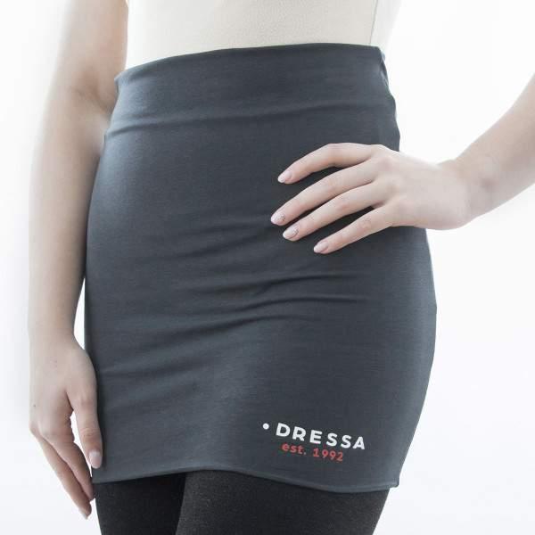 Dressa hosszú női derékmelegítő - sötétszürke