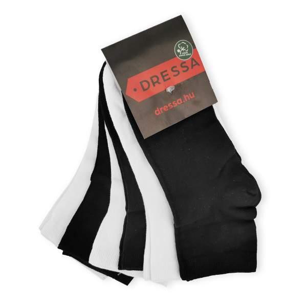 Dressa Modal női zokni csomag - fekete-fehér - 6 pár