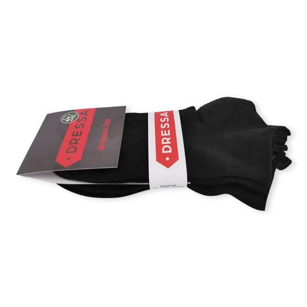 Dressa Modal rövid szárú női zokni csomag - fekete - 3 pár