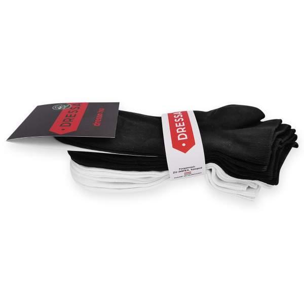 Dressa Modal rövid szárú női zokni csomag - fekete-fehér - 6 pár