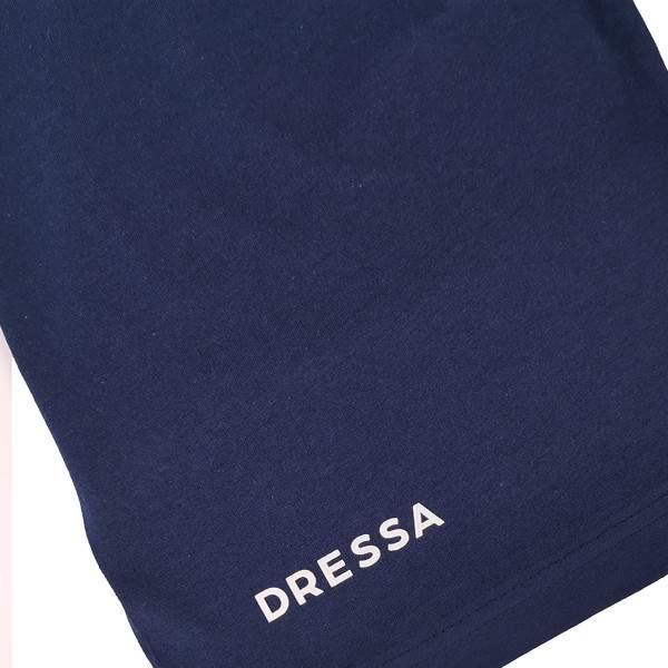 Dressa Home New York gombos rövid ujjú rövidnadrágos pamut férfi pizsama - világosszürke