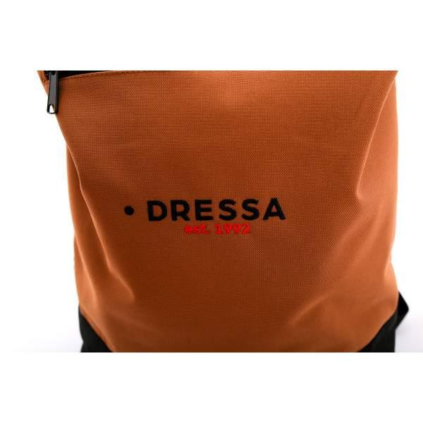 Dressa Rolltop hátizsák - caramel