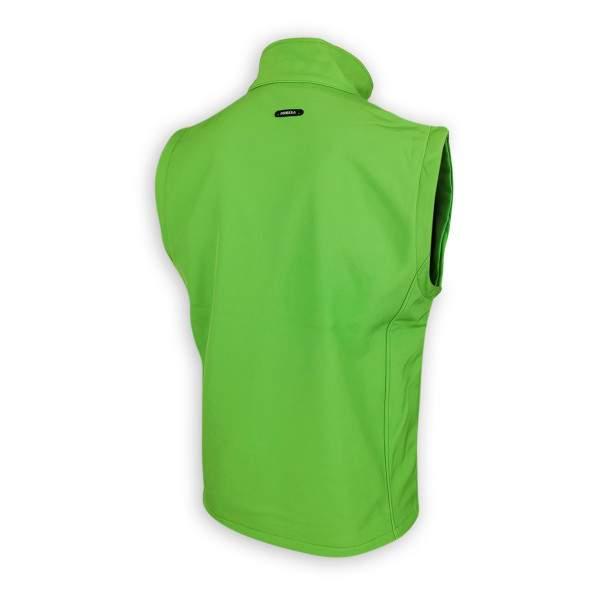 Dressa Softshell vízálló férfi mellény polár béléssel - zöld