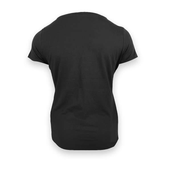 Dressa Supima női pamut póló - fekete