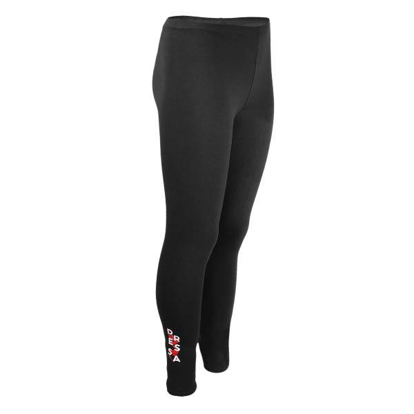 Dressa Teen Jersey pamut leggings lányoknak - fekete