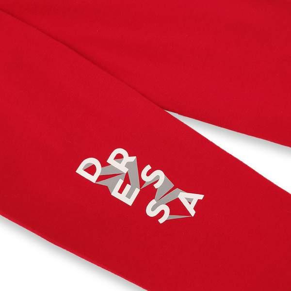 Dressa Teen Jersey pamut leggings lányoknak - piros