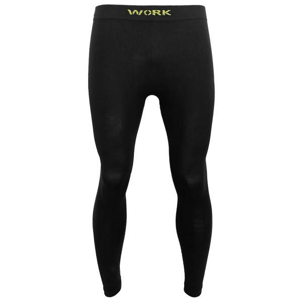 Dressa Work varrás nélküli férfi munkaruha aláöltözet leggings - fekete