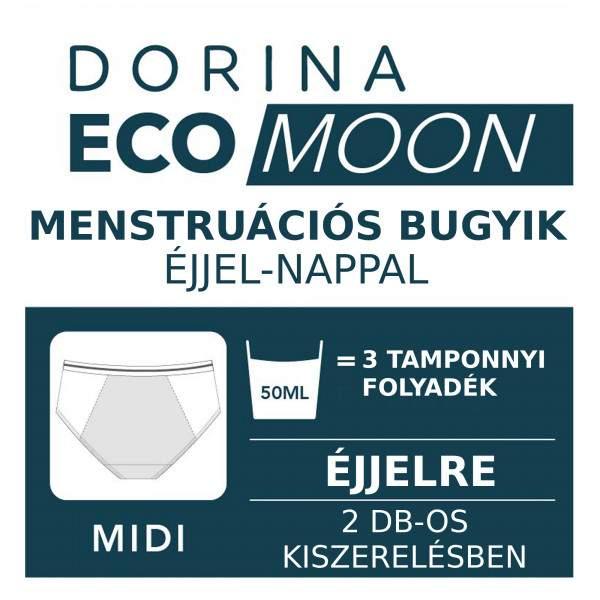 Dorina Eco Moon-2PP Midi menstruációs bugyi - 2 db