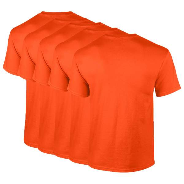 Gildan 2000 környakú rövid ujjú póló csomag - 5 db