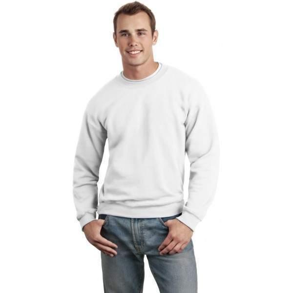 3ec6aa5c5b Gildan 12000 unisex kereknyakú pulóver - fehér - Dressa.hu