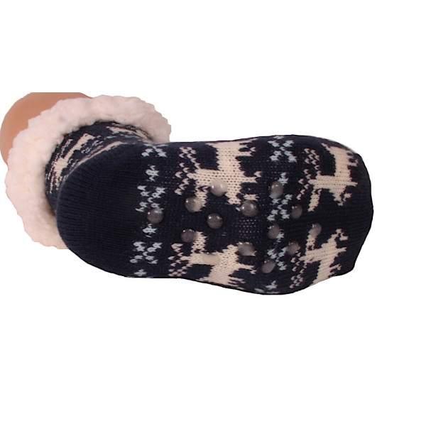 HDI rénszarvasos gyerek mamusz zokni