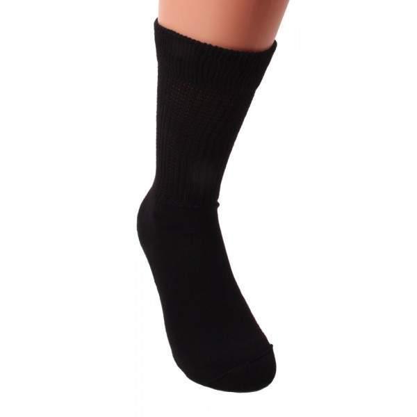 HDI 2329 könnyed gumírozású frottír talpas zokni
