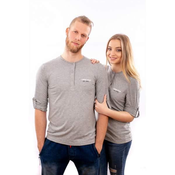 Dressa Collection női hosszú ujjú póló - szürke