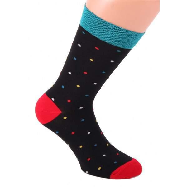 Italian Polka pöttyös zokni