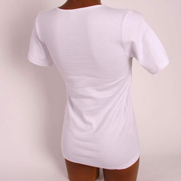 Jadea női csipkésnyakú pamut póló