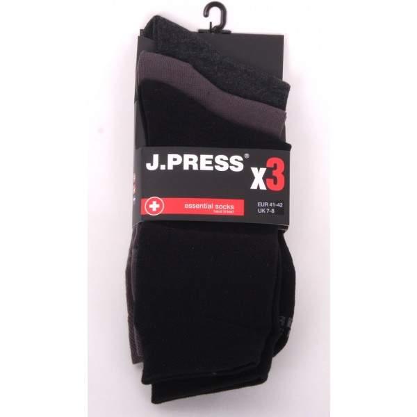 JPRESS MP3D042 antibakteriális férfi zokni - 3 pár