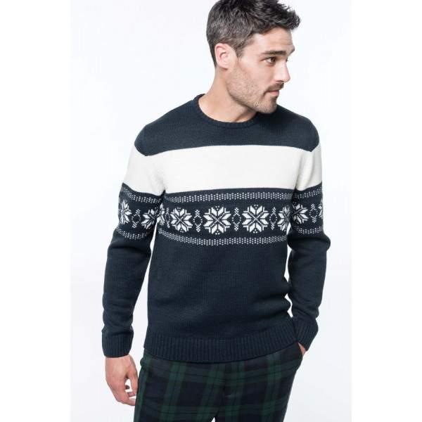 a74db56821 Kariban K996 férfi norvégmintás pulóver - Dressa.hu