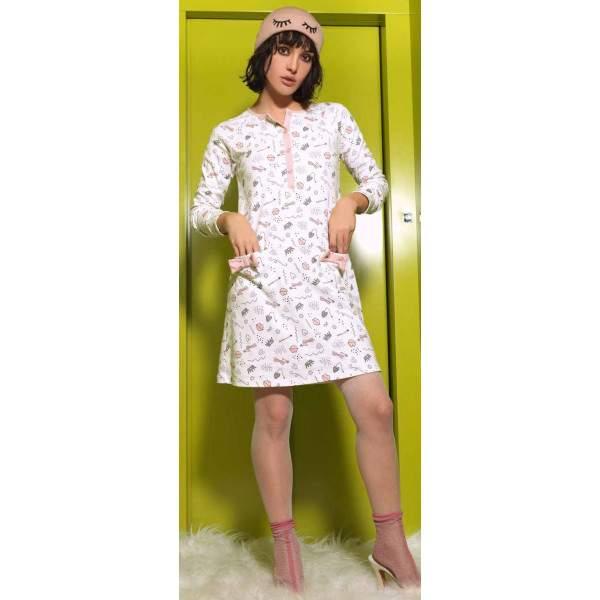 Miami 92663 női pamut hálóing