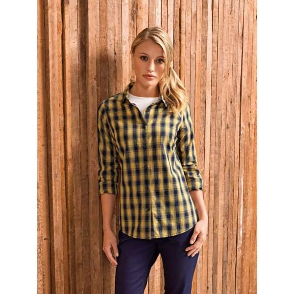 Premier PR350 Mulligan női kockás ing