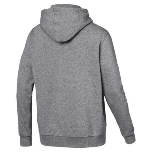 Puma ESS Hoody TR Big Logo kapucnis pulóver - szürke