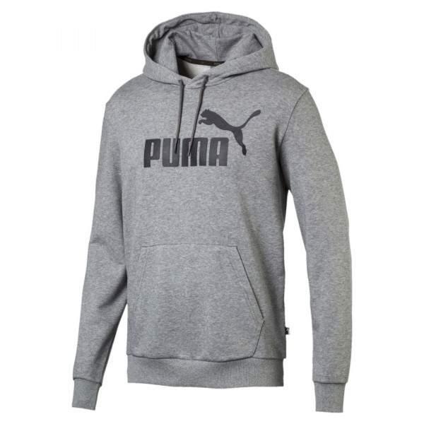 b2acd24364 Puma ESS Hoody TR Big Logo kapucnis pulóver - szürke - Dressa.hu