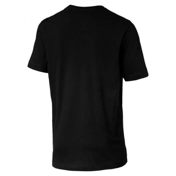 Puma ESS Logo Tee férfi póló - fekete