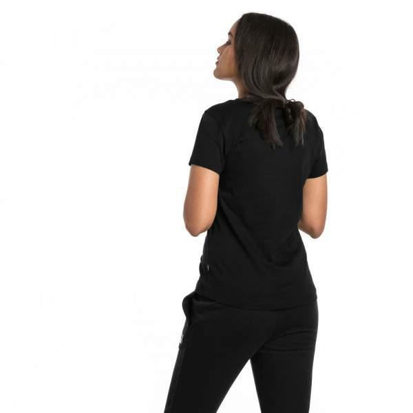 Puma ESS Logo Tee női póló - fekete