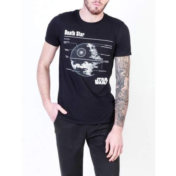 5405dd16bd Star Wars Death Star férfi rövid ujjú póló - Dressa.hu