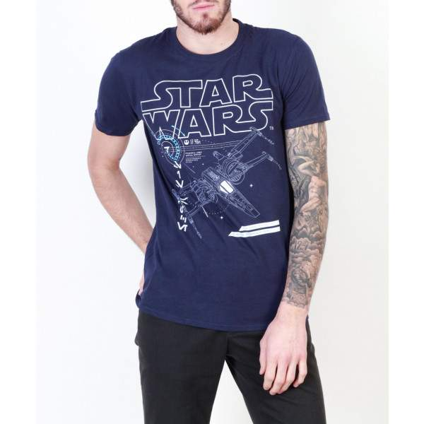 e20c3158cc Star Wars X-Wing férfi rövid ujjú póló - Dressa.hu