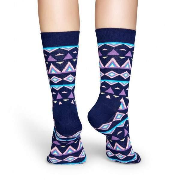 Happy Socks TEM01 indián mintás zokni