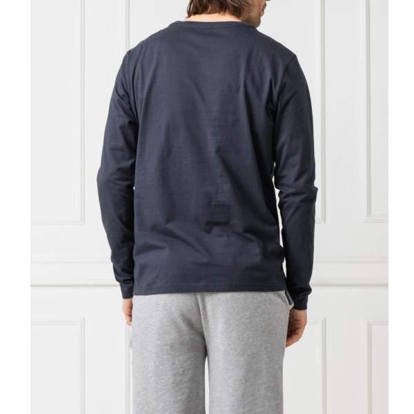 Tommy Hilfiger CN LS TEE hosszúujjú póló - sötétkék