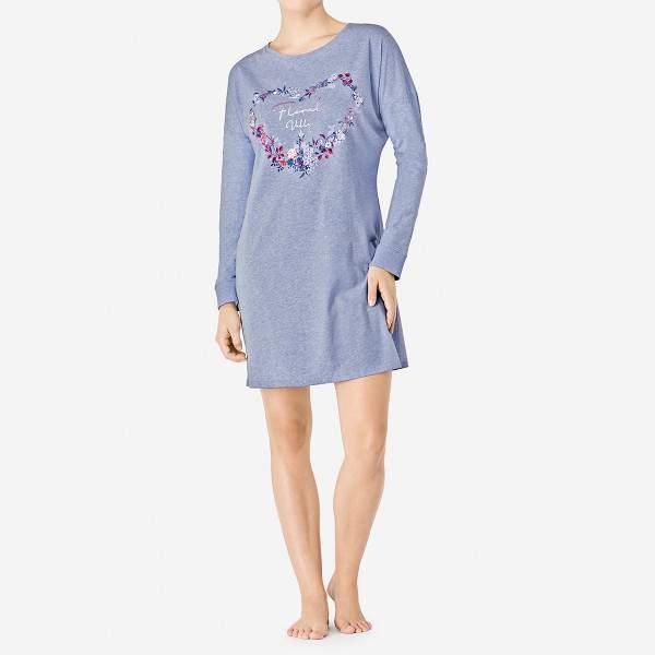 Triumph Nightdresses szív alakú virágmintás hálóing