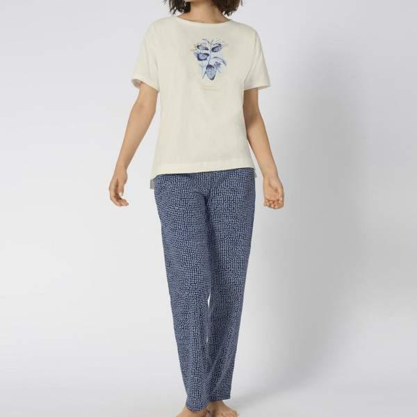 Triumph Sets PK 10 X pamut mintás pizsama szett