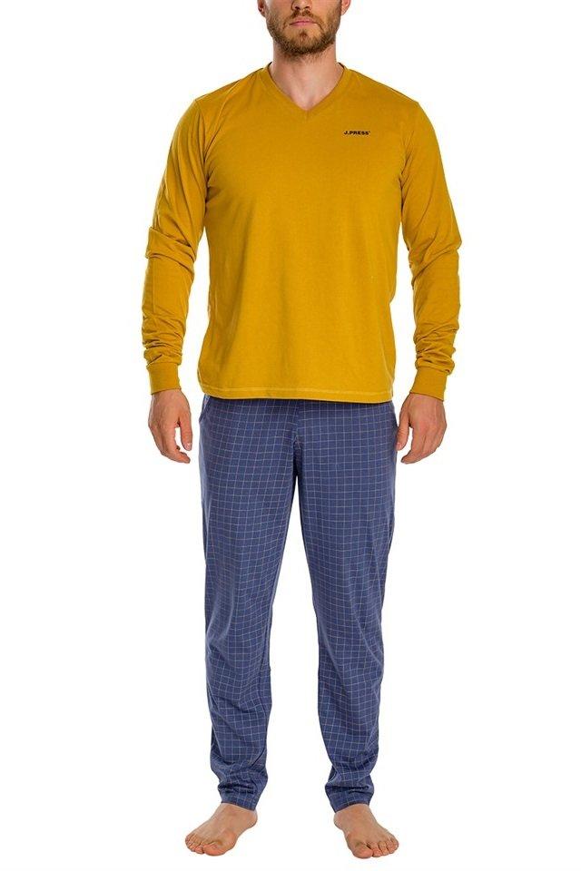 17094f3754 JPRESS MWPJ014 férfi pamut pizsama - Dressa.hu