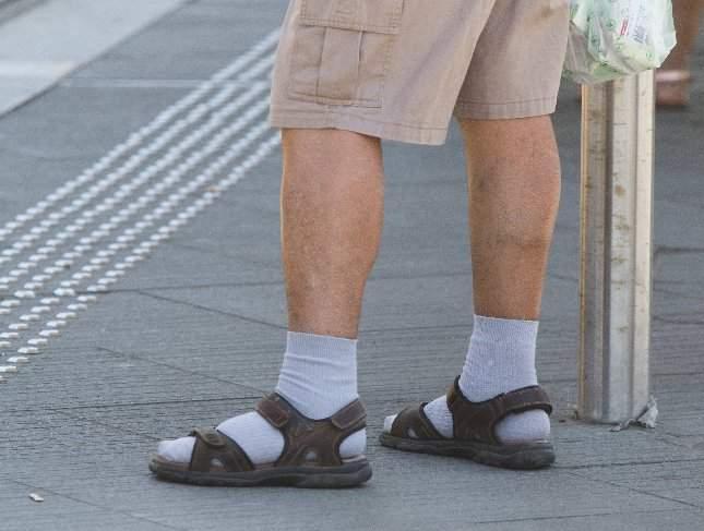 szandál-zokni